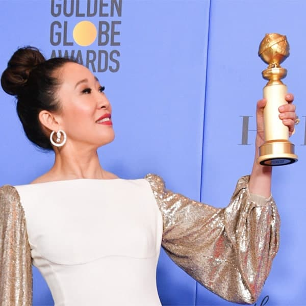 Killing Eve ster Sandra Oh met Golden Globe