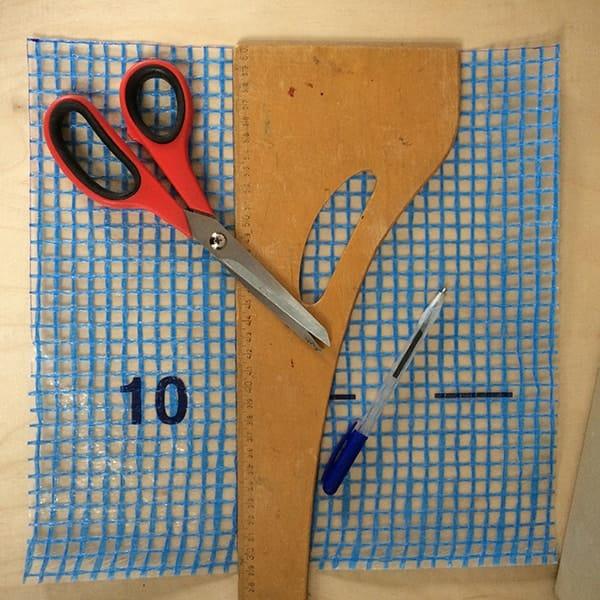 materiaal om zelf een portemonneetje van te maken