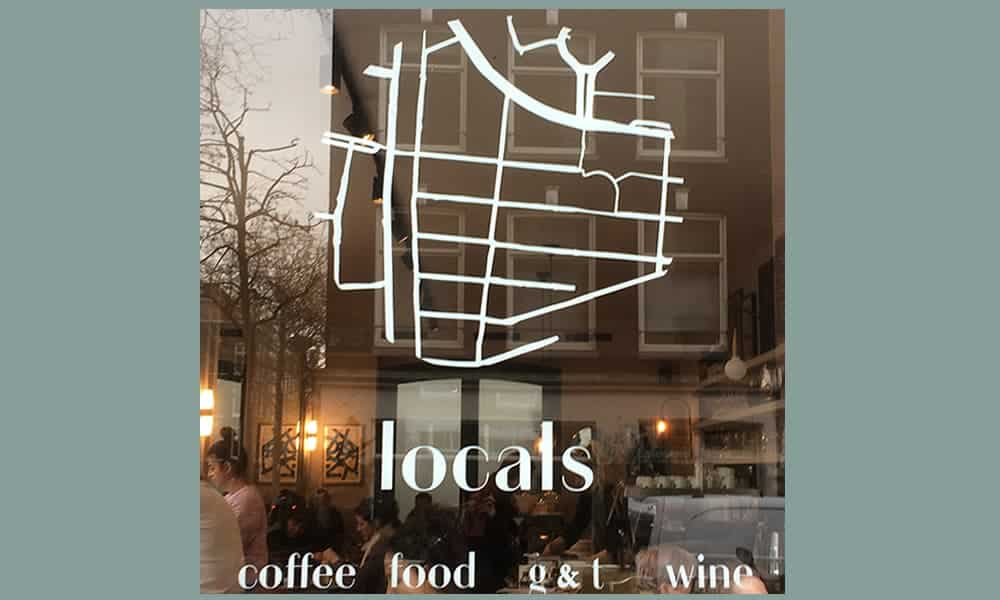 Locals Coffee in de Pijp in Amsterdam