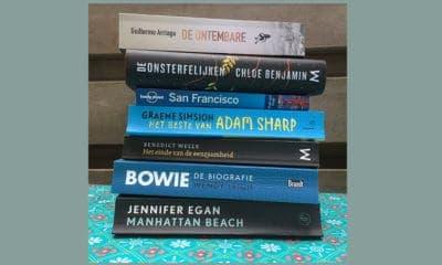 Boekenlijst 2019, stapel boeken