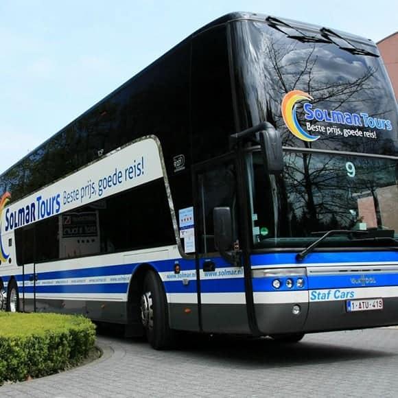 Met de bus naar Spanje met Solmar Tours
