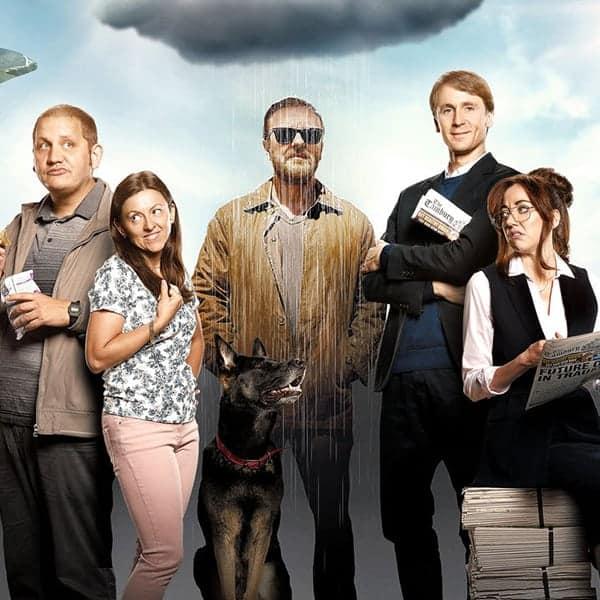 After Life, the cast, is één van de leuke series op Netflix die nu te zien zijn.