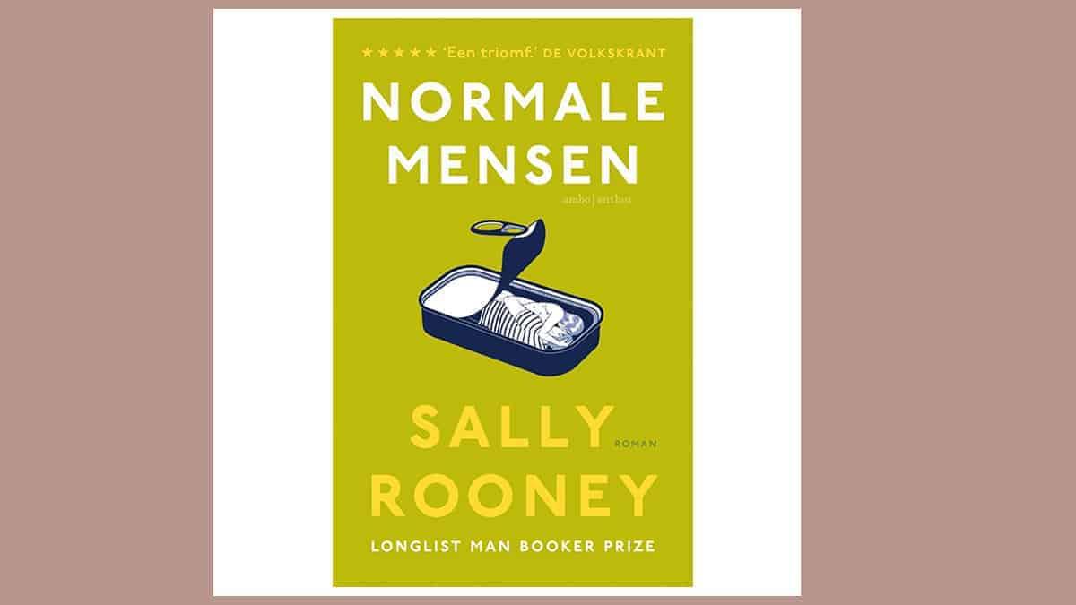 Boek Normale Mensen, Sally Rooney