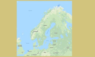 De Noordkaap in Noorwegen is een eindje weg van Nederland