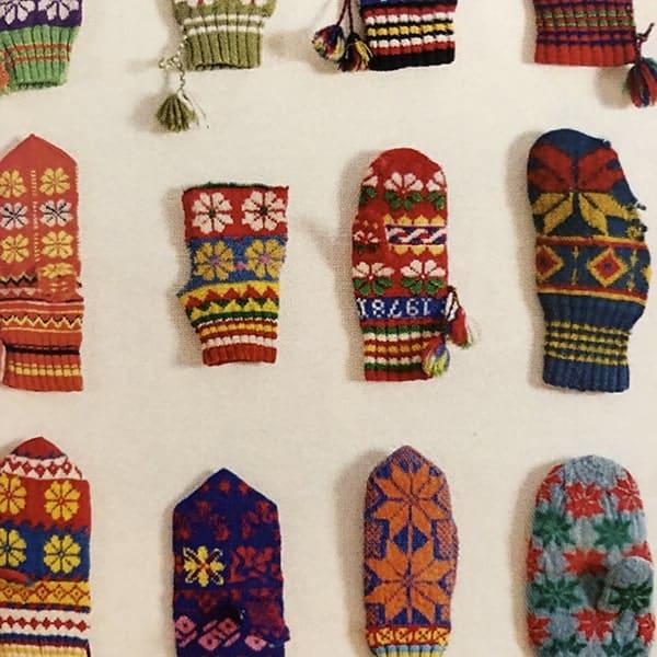 Dit zijn originele patronen van wanten, gemaakt door Sami, het enige inheemse volk van Europa, dat o.a. in Finland woont.