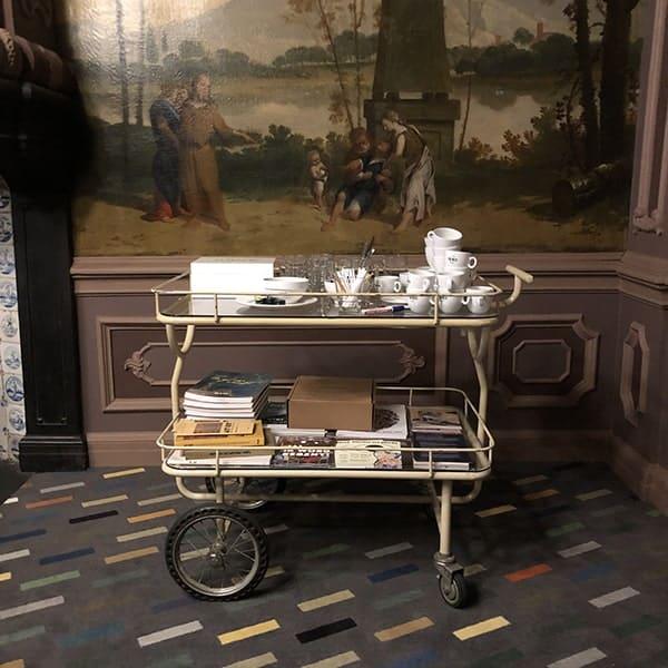 De regentenkamer van het Dolhuys