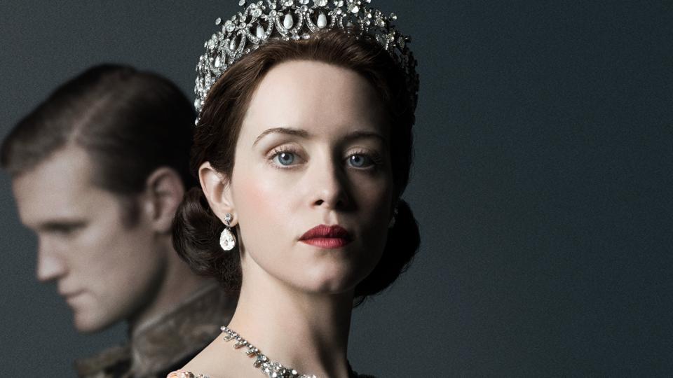 Claire Foy speelt in de eerste twee seizoenen de hoofdrol als koningin Elisabeth II