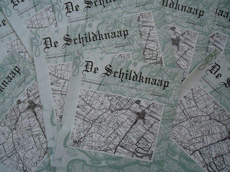 De Schildknaap, het viermaandelijkse tijdschrift over Genealogie van de familie Van der Knaap.