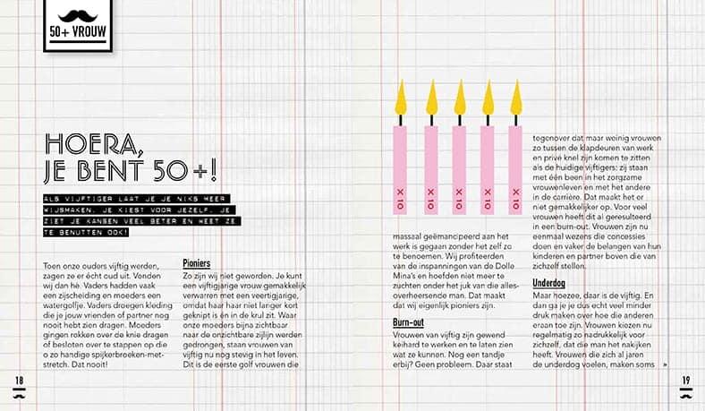 Bladzijde uit Snorgids voor Vrouwen 50+