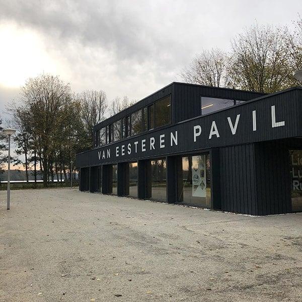 Museum in Amsterdam West (Slotermeer) : Het Van Eesteren Paviljoen