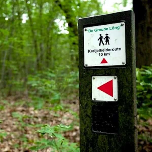 Ontspannen in de natuur kan men een wandeling door De Greune Löng bij Venlo