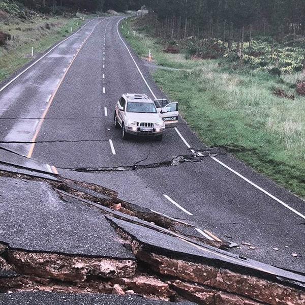 Aardbeving van 2016 op het Zuidereiland van Nieuw Zeeland