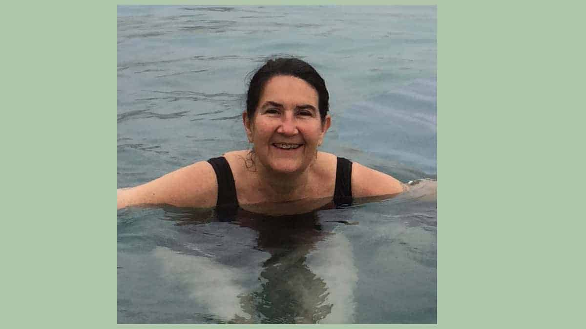 Het zwembad en het nijlpaard