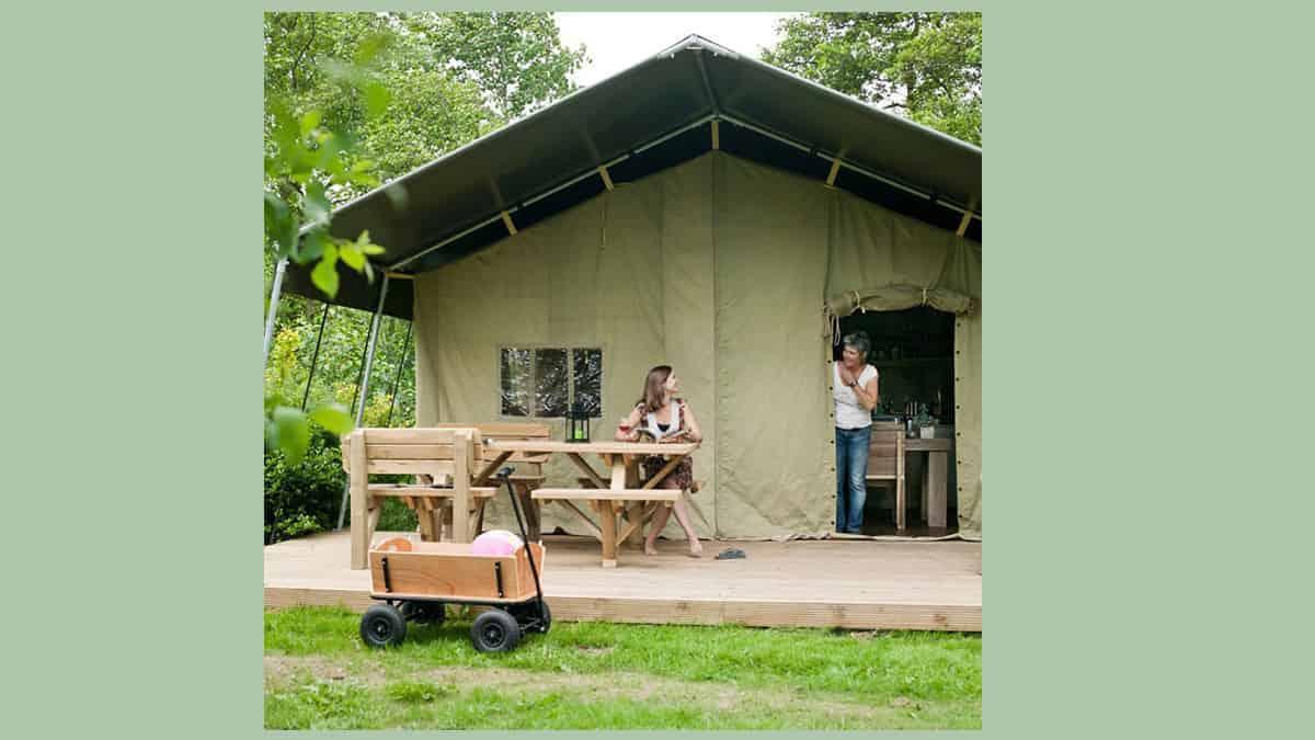 Safaritent huren Gelderland: coronavrij kamperen op deze minicamping