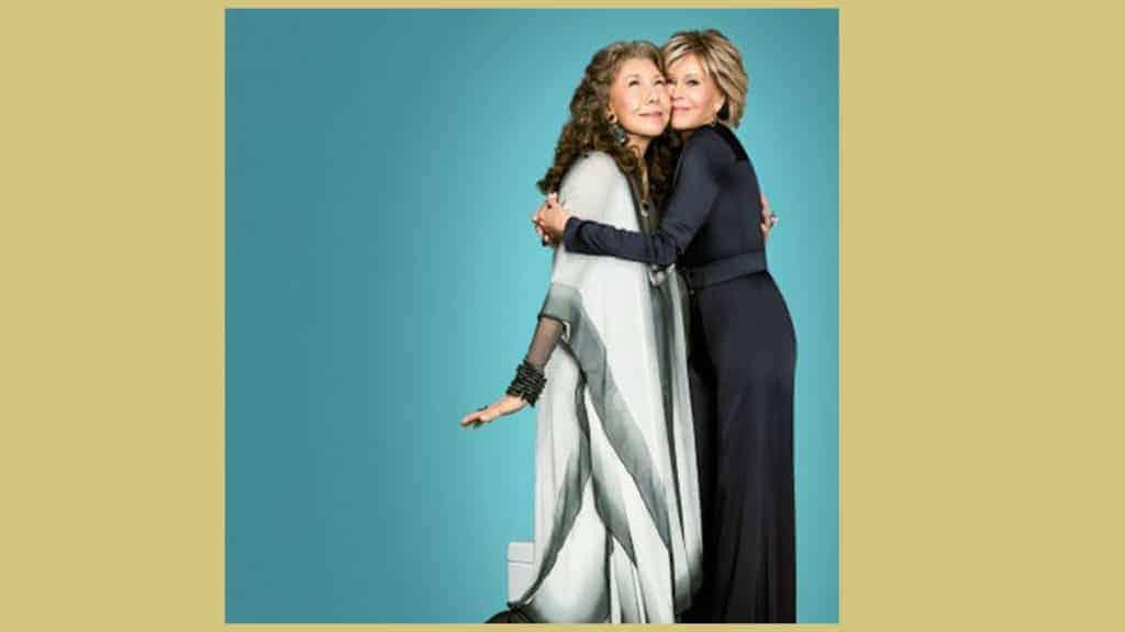 Grace & Frankie is één van de goede series op Netflix over de vriendschap tussen twee vrouwen