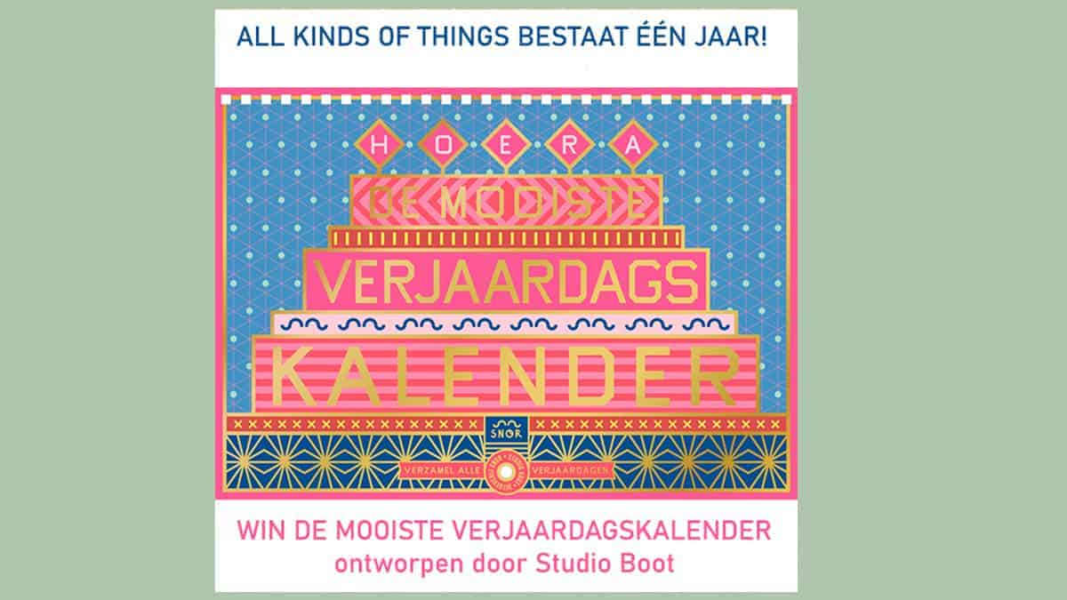 AKOT (All Kinds of Things) bestaat 1 jaar