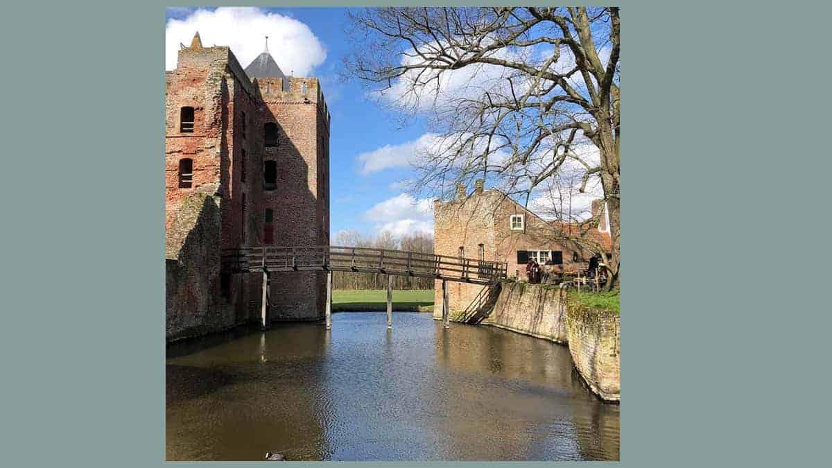 Een kasteel in Noord-Holland: Ruïne Brederode