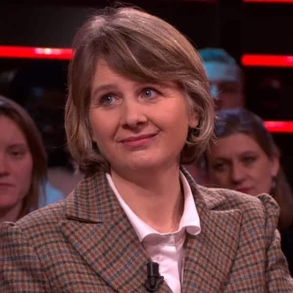 Josephine Rombouts vertelt over haar leven in een kasteel in Schotland tijdens de Brexit- uitzending van DWDD van 27/1/2020