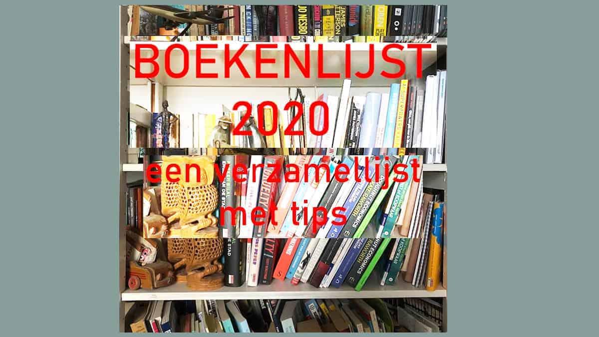 Boekenlijst 2020, een verzamellijst met tips