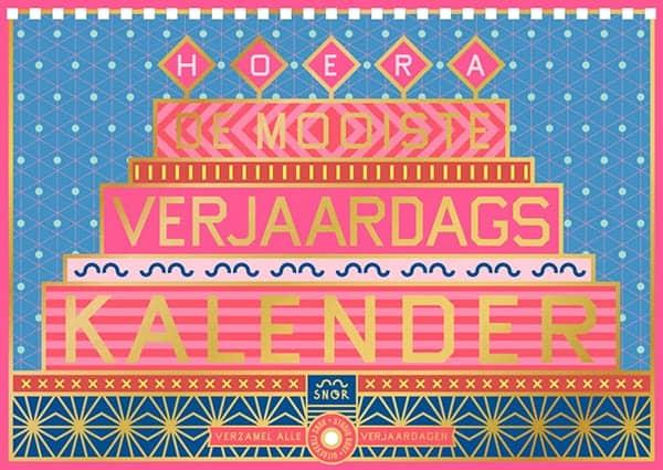 Cover van De Mooiste Verjaardags Kalender van Uitgeverij SNOR