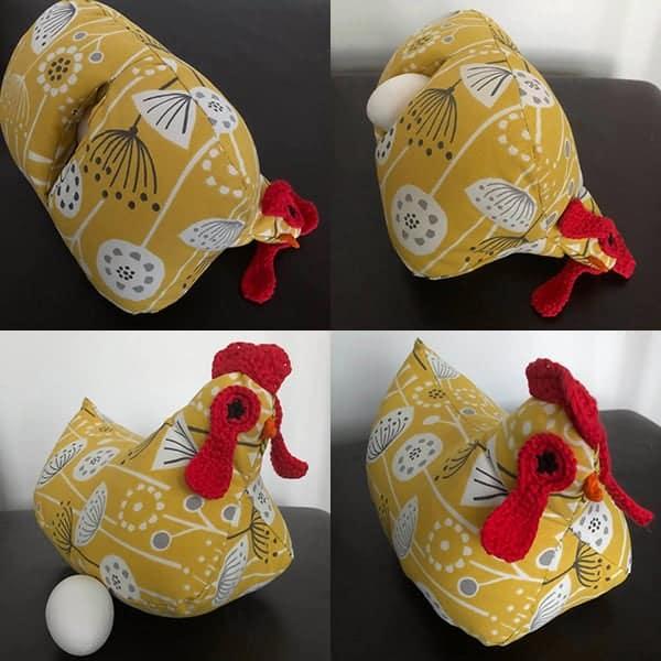 Zie hoe de kip uiteindelijk zijn ei legt! Wat was er het eerst: de kip of het ei?