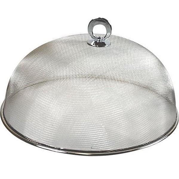 Deze voedselkap helpt het best als je last hebt van muggen 's nachts :)