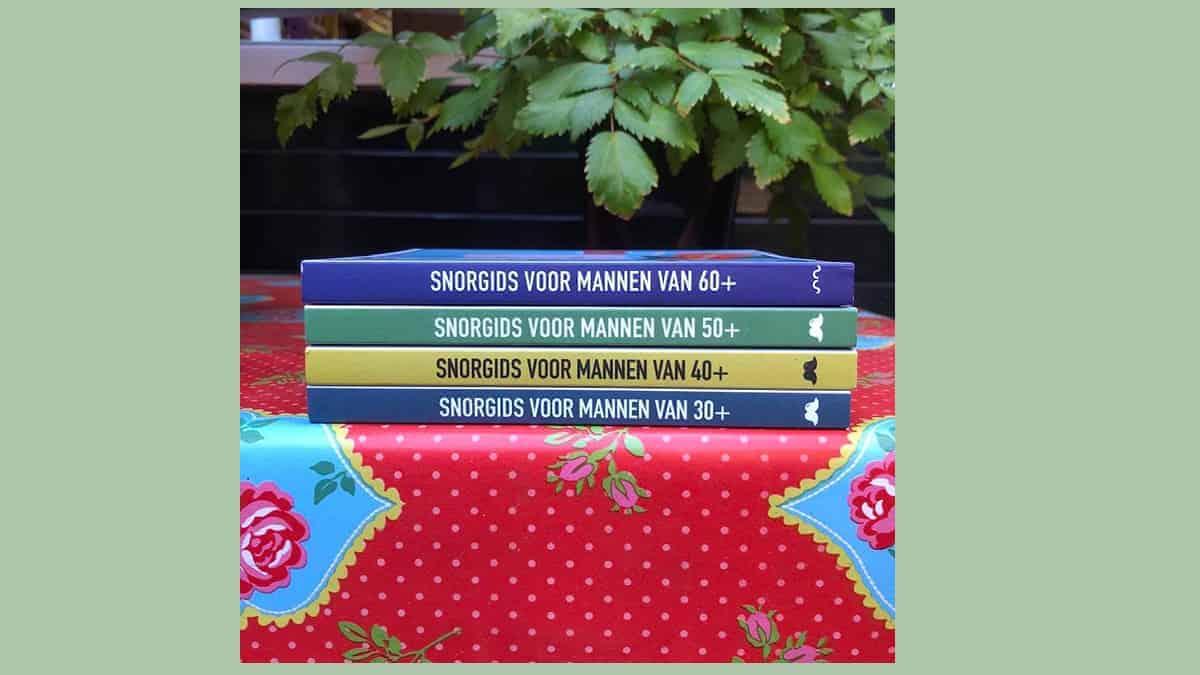 Grappig boek voor mannen van uitgeverij Snor