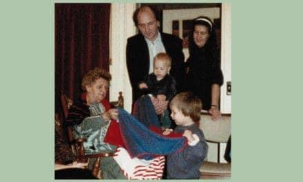 Mijn moeder hield van televisiekijken en van ons