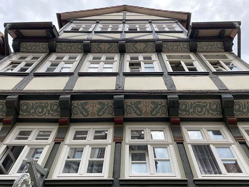De mooiste vakwerkhuizen in Duitsland staan in Hann. Münden
