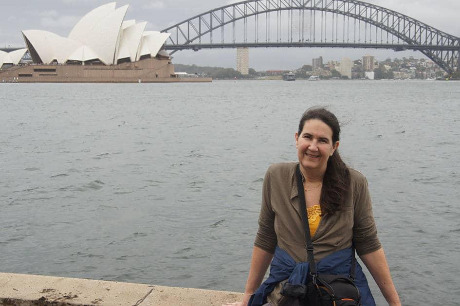 Sydney met het Opera House op de achtergrond