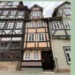 Vakwerkhuizen in Duitsland in Hann. Münden