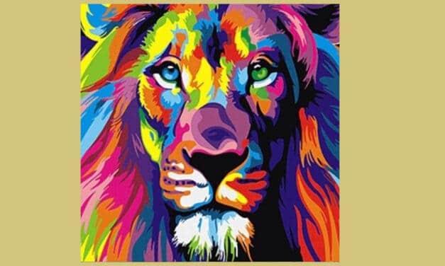 kleuren op nummer: schilder een fantastisch zelfportret!