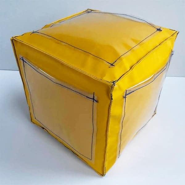 De kubus zit in elkaar en is klaar voor gebruik