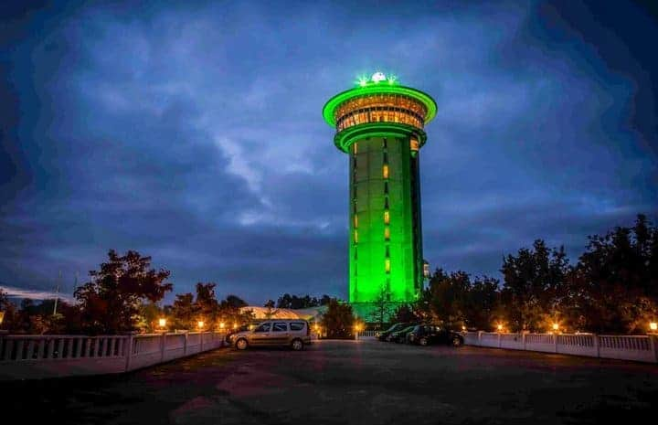 Watertoren Zwolle: hotel in bijzonder gebouw