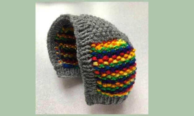 Snel een babymutsje (newborn) breien | gratis patroon