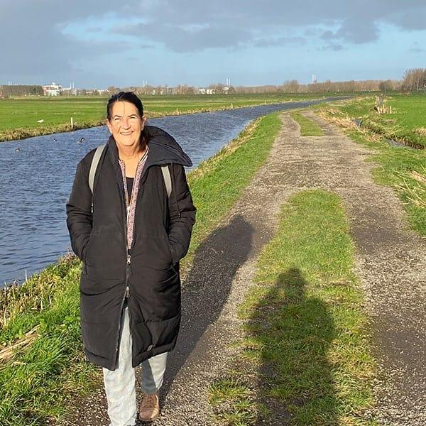 Wandelen in Haarlem en omgeving, hier in de Hekslootpolder