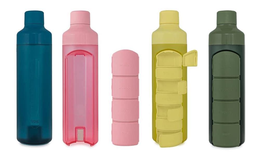 Elke dag medicijnen slikken is superhandig met de YOS-fles