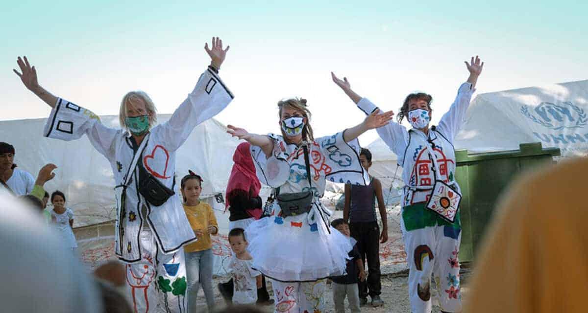 Kindertheater op Lesbos: Changing Stories laat ze lachen!