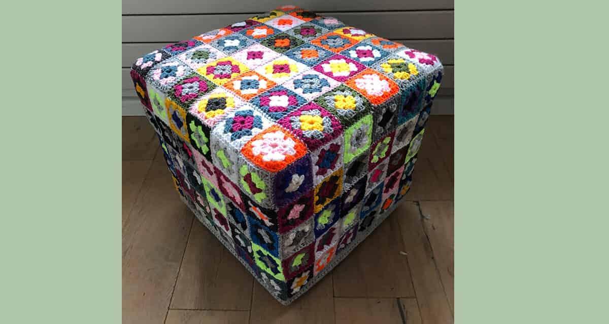 Gehaakte granny square: hoe meer kleuren hoe beter!