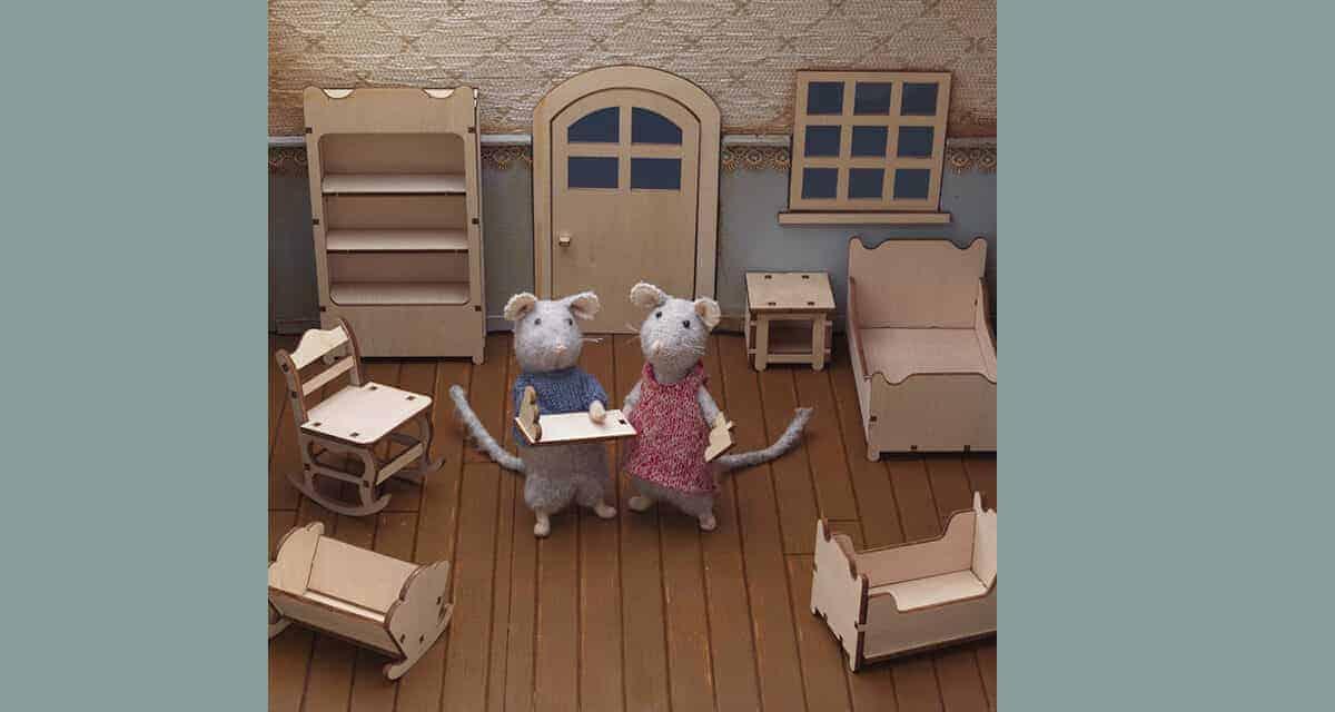 Poppenhuis meubels zelf maken van hout: zo kan het ook!