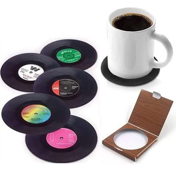 Vinyl coasters te koop