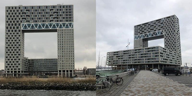 Pontsteiger Amsterdam aan het IJ