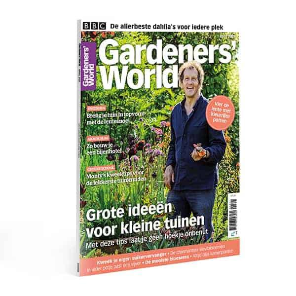 Brits tuinprogramma op tv met Monty Don heeft ook zijn eigen tuinieren magazine, Gardeners' World