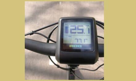 Hippe elektrische fiets met een lage instap, best of both worlds