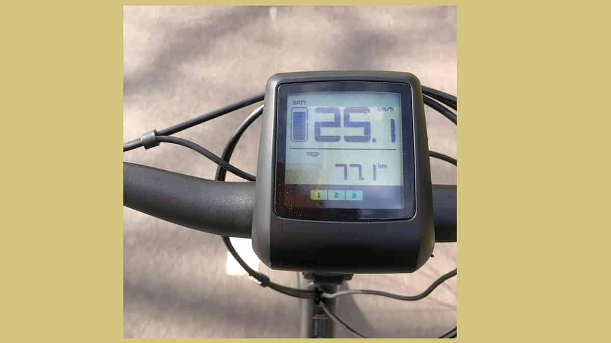hippe elektrische fiets