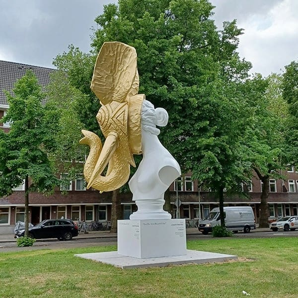 Beelden in Amsterdam: Art Zuid beeldenroute
