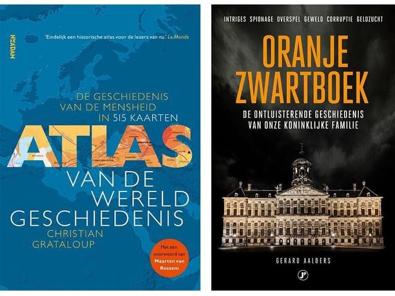 Boeken voor 60-plussers over geschiedenis