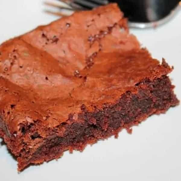 Nutella brownies, handig om mee te nemen