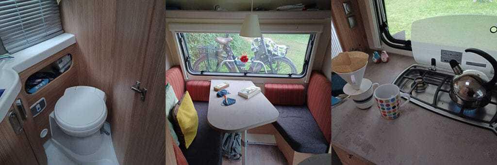 kamperen met een camper of een caravan geeft veel comfort